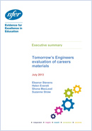 Tomorrow's Engineers evaluation of careers materials