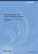 National Evaluation of the Primary Leadership Programme