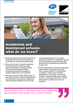 Academies and maintained schools