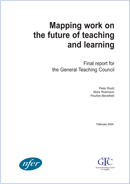 Mapping work on the future of teaching and learning