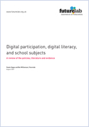 Digital participation, digital literacy, and school subjects: A review of the policies, literature and evidence