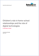 Children's role in home-school relationships and the role of digital technologies: A literature review