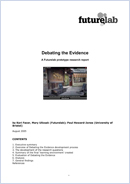 Debating the evidence: A Futurelab prototype research report