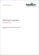 Gaming in families: A literature review