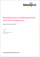 Developing and accrediting personal skills and competencies