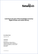 Digital divides and media literacy