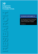 The International Survey of Adult Skills 2012: Adult literacy, numeracy and problem solving skills in England