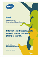 International Baccalaureate Middle Years Programme (MYP) in the UK