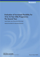 Evaluation of increased flexibility for 14 to 16 year olds programme: The second year