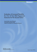 Evaluation of Increased flexibility for 14 to 16 Year Olds Programme: Outcomes for the second cohort