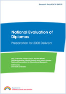National evaluation of diplomas: Preparation for 2008 delivery