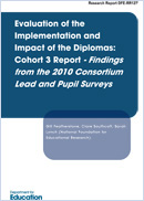 Evaluation of the implementation and impact of the diplomas: Cohort 3 report - Findings from the 2010 consortium lead and pupil surveys