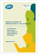 National evaluation of diplomas: Cohort 2 - the second year