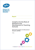 Research and development insights in teaching schools