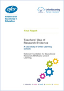 Teachers' Use of Research Evidence: A case study of United Learning schools