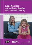 Supporting local authorities to develop their research capacity