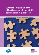 Councils' views on the 16-19 commissioning process