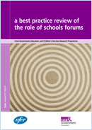 A best practice review of the role of schools forums