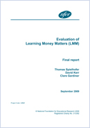 Evaluation of Learning Money Matters (LMM)