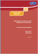 Multi-agency working and its implications for practice: A review of the literature