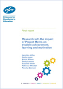Research into the impact of Project Maths on student achievement, learning and motivation