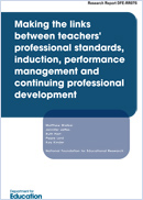 Making the links between teachers' professional standards, induction, performance management and continuing professional development