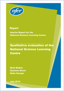 Qualitative evaluation of the National Science Learning Centre
