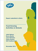 Food growing activities in schools