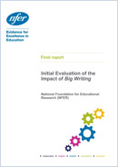 Initial Evaluation of the Impact of Big Writing