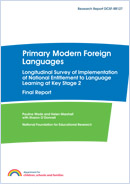 Primary modern foreign languages: Longitudinal survey of implementation of national entitlement to language learning at Key Stage 2