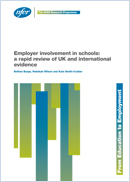 Employer involvement in schools: A rapid review of UK and international evidence