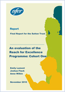 An evaluation of the Reach for Excellence programme: Cohort one