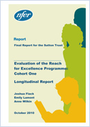 Evaluation of the Reach for Excellence programme, cohort one: Longitudinal report