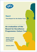 An Evaluation of the Reach for Excellence programme: Cohort two