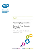 NFER evaluation of Realising Opportunities - Cohort 2