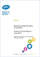 NFER evaluation of Realising Opportunities - Cohort 3