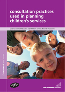 Consultation practices used in planning Children's Services