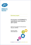 Evaluation of STEMNET 2011-15