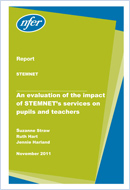 An evaluation of the impact of STEMNET's services on pupils and teachers