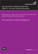 The new school funding arrangements 2006-07: the local authority perspective