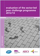 Evaluation of the sector-led peer challenge programme 2012/13