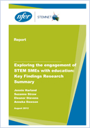 Exploring the engagement of STEM SMEs with education: Key findings research summary