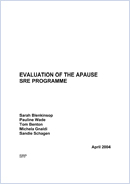 Evaluation of the APAUSE Sex and Relationships Education Programme