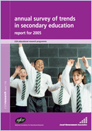 Annual survey of trends in secondary education: Report for 2005
