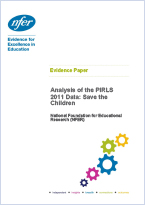 Analysis of the PIRLS 2011 Data:  Save the Children