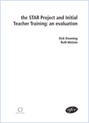 The STAR Project and initial teacher training: An evaluation
