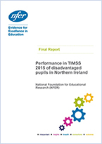 NI disadvantaged pupils performance in TIMSS 2015