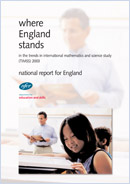 Where England stands in the Trends in International Mathematics and Science Study (TIMSS) 2003: National report for England
