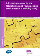 Information sources for the local children and young people's services sector: A mapping study