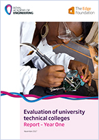 Evaluation of University Technical Colleges: Report - Year One